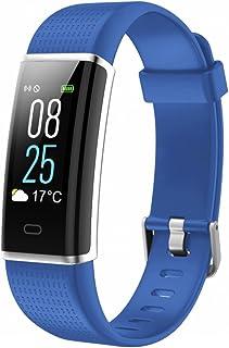 TOOBUR Reloj de Seguimiento de Actividad, Resistente al Agua, con podómetro de Ritmo cardíaco, calorías y Monitor de sueño, Contador de Pasos, Pulsera para Mujeres y Hombres