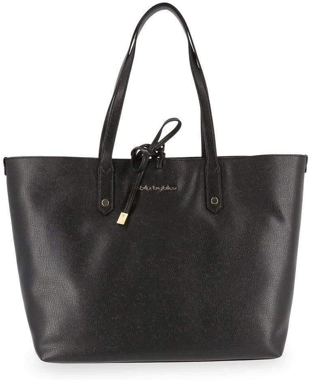 blue Byblos Women's Shopping bags, NEWBRIGITTE_685740_001_black