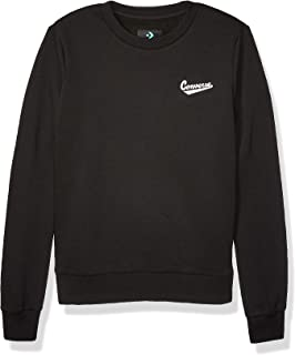 Converse Baseball Script Pullover Crew Sweatshirt