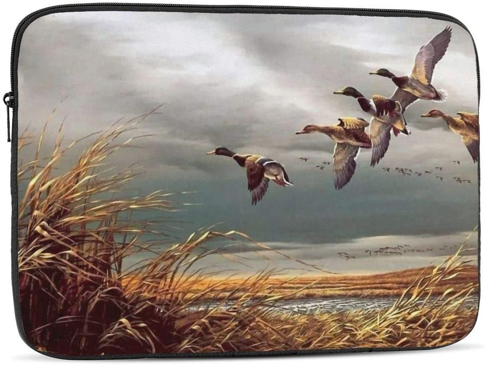 Daily bargain sale Hunting Flying Wild New Orleans Mall Ducks Laptop Compatible Bag iPad Sleeve with