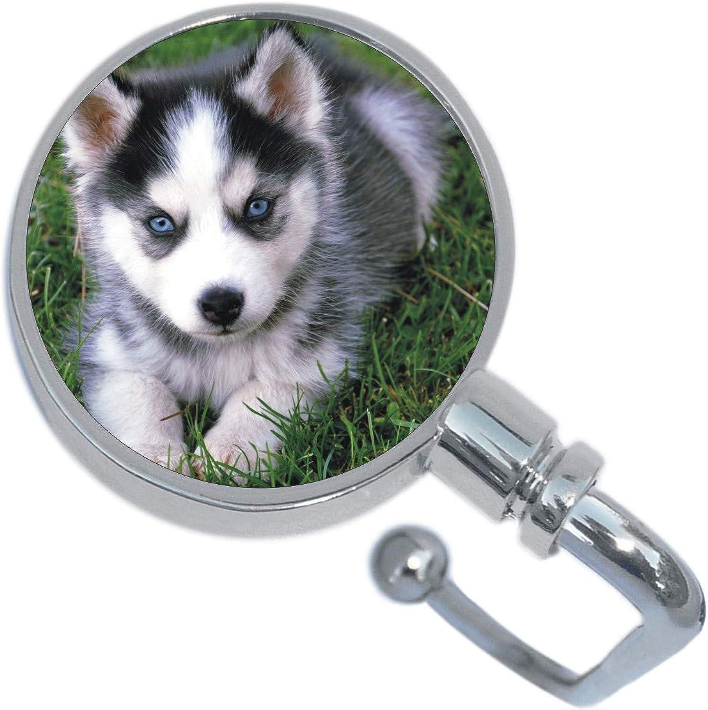 Husky Puppy Dog Purse Hanger
