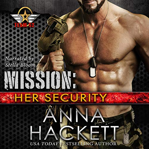 Mission: Her Security audiobook cover art