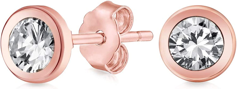 Finally Virginia Beach Mall popular brand Tiny Simple Minimalist Cubic Zirconia AAA CZ W Earrings Stud For