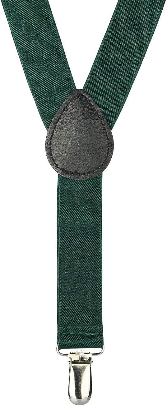 Retreez Boy's Suspender Bow Tie Set Christmas Happy Santa Claus Pre-Tied Bow Tie