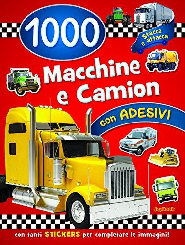 1000 macchine e camion. Con adesivi. Ediz. a colori