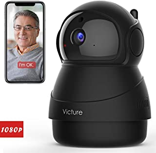 Victure 1080P FHD WiFi IP Camera Indoor Security Camera Motion Detection Night Vision..