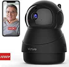 Victure 1080P FHD WiFi IP Camera Indoor Security Camera Motion Detection Night Vision Home Surveillance Monitor 2-Way Audio Baby/Pet/Elder