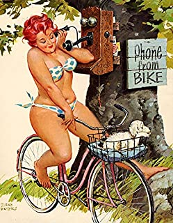 Hilda #73 Plus Size Pin Up Vintage Reproduction Print 11 x 17