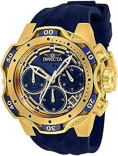 ساعة انفيكتا فينوم كرونوغراف كوارتز مينا ازرق للسيدات 33643