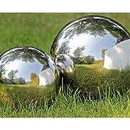Stainless Mirror Sphere Garden Ornament