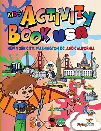 Kids Activity Book - USA: Young kids have fun discovering the United States with