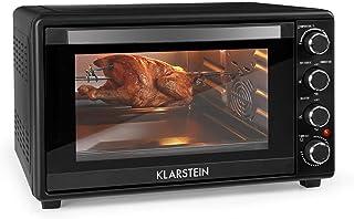 Klarstein Masterchef 45 - Mini four, Tournebroche rotatif, Puissance de 2000 watts, Capacité de45 litres, Minuterie de 0-...