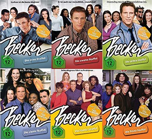 Becker - (Staffel 1+2+3+4+5+6) - Ted Danson - 18 DVD - 6 Boxen