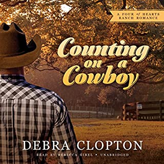 Counting on a Cowboy audiobook cover art