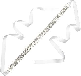 Remedios Rhinestone Bridal Belt Bridesmaid Sash Crystal Wedding Belt Women Dress Accessories