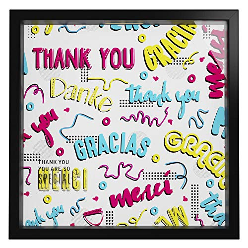 Appreciation Gifts | Keepsake Storage Box to Say Thank You | Ideal Present for that Special Coworker, Employee or Friend | Picture Frame for Wall Decoration | Office and Home Decor