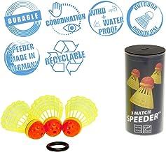 Speedminton Match Speeder 3Pk Speeder Tube Birdies for Outdoor Games Speed Badminton/Crossminton