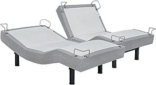 Reverie 5D Adjustable Bed Base, Wireless, Massage, Wall Snuggler, Zero Gravity, Split King