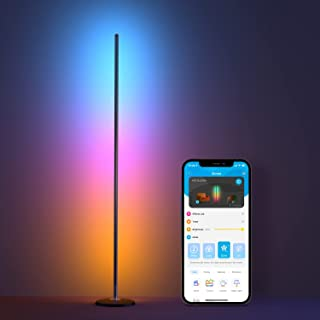 Sponsored Ad - Govee RGBICW Smart Floor Lamp, Standing Lamp Alexa APP Control, Led Floor Lamp with Reactive Music Mode, Cr...
