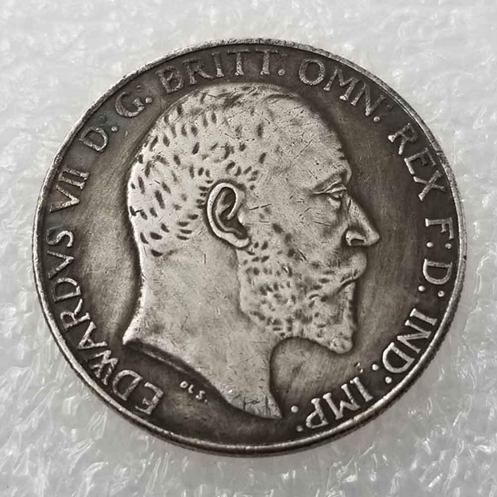 YunBest 1947 Great United Kingdom Old Coins Old Uncirculated Commemorative Coins-Great Discover History of Coins BestShop UK Old Coin British Old Coin