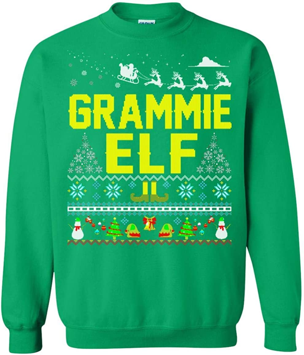 Fashionable Max 44% OFF Women's Grammie Elf Ugly Season Family Shirt Tshirt S Matching -