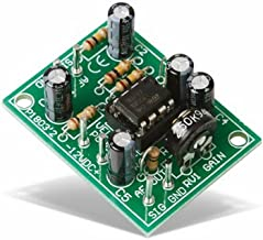 Universal Mono Pre-Amplifier Kit - K1803 by Velleman. Intermediate level soldering kit