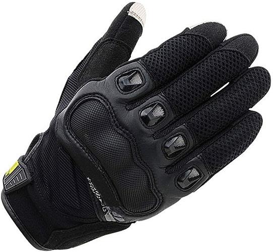 UICICI Gants de moto de prougeection pour écran tactile Gants de vélo de vélo de montagne pour hommes (Couleur   Noir blanc-M)