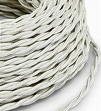 2/x 0 Made in Italy 75/Color: Rohe verde salvia Cable el/éctrico en farbigem revestimiento pl/ástico