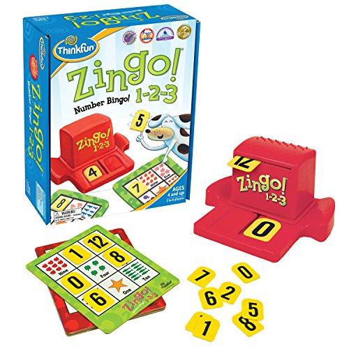 ThinkFun Zingo 1-2-3 Number...
