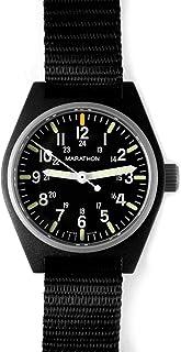 MARATHON WW194009 Swiss Made Military Field Army Watch with MaraGlo and Sapphire Crystal