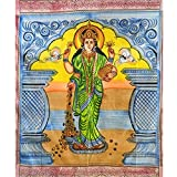 Colcha Lakshmi 230x210cm algodón India cortina decoración de pared