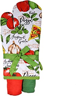 DEI 10621 Pizza Oven mitt and Towel, 16