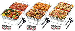 Sterno 24-Piece Disposable Party Set, One Size, Silver