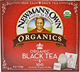 Newman's OwnOrganics Royal Tea, Organic Black Tea, 100 Individually Wrapped Tea Bags, 7.1 Ounce...