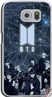 LLM 2 BTS Star Love Yourself Face Love Kpop Bangtan Boys Band Korean Rapmonster Jin Suga J-Hope Jimin V Jungkook Music Transparent Hard Cover Case for Samsung (Samsung Galaxy S7 Edge)