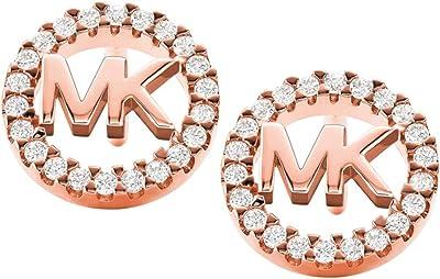 Michael Kors Orecchini Argento Sterling 925 Placcato Oro MKC1247AN791