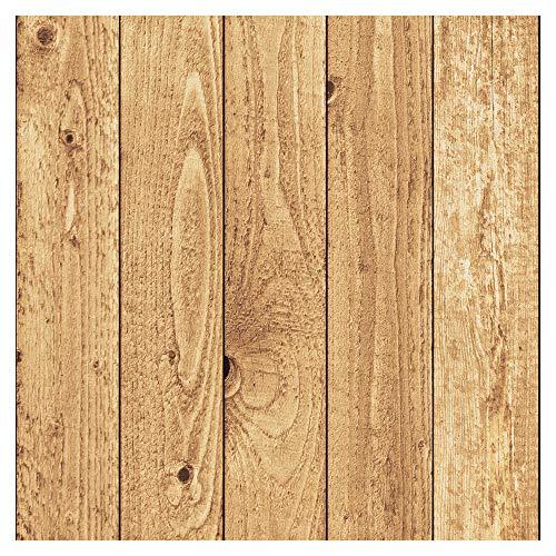 murando Vlies Tapete Deko Panel Fototapete Wanddeko 10 m Tapetenrolle Mustertapete Wandtapete modern design Dekoration - Holz 1602-9