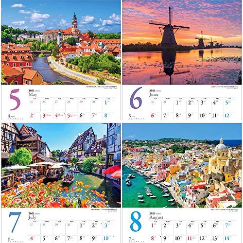 写真工房「世界一美しい街を散歩する」2021年カレンダー壁掛け風景