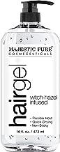 Hair Gel for Men & Woman - Styling with Organic Aloe Vera & Witch Hazel - 16 fl oz