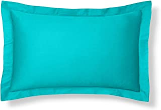 Harmony Lane Classic Tailored Pillow Sham - Standard, Aqua Sham (Available in 16 Colors)