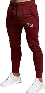 [ベンケ] トレーニングパンツ メンズ 無地 ジム スリム ジョガーパンツ フィットネス スポーツ ランニング ロングパンツ 秋服