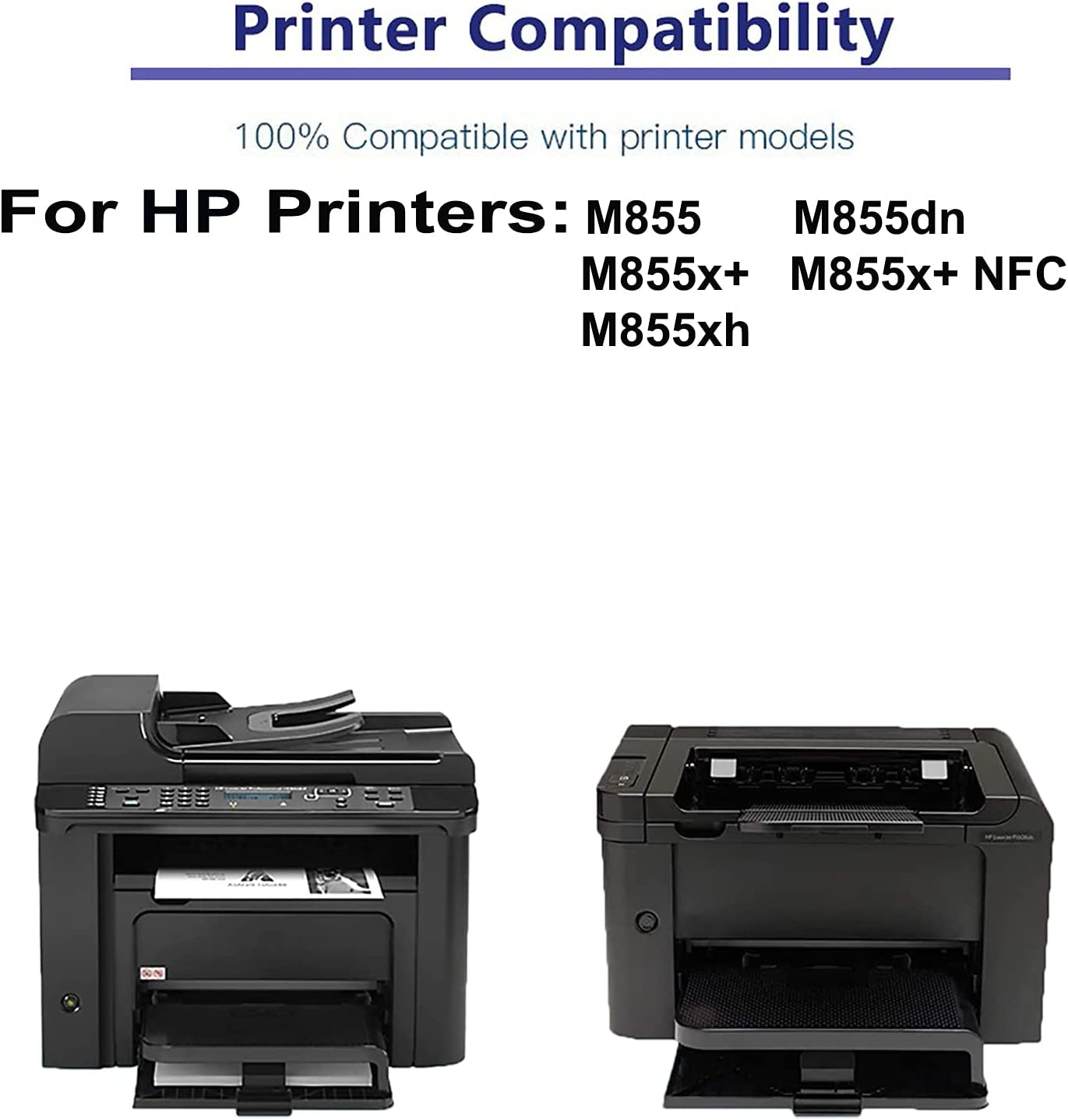 1-Pack (Yellow) Compatible High Yield 826A (CF312A) Laser Printer Toner Cartridge use for HP M855, M855dn, M855x+, M855x+ NFC, M855xh Printer