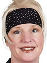Open Road Girl Hair Bandana: Biker Chick Head Wrap: Scatter Stone