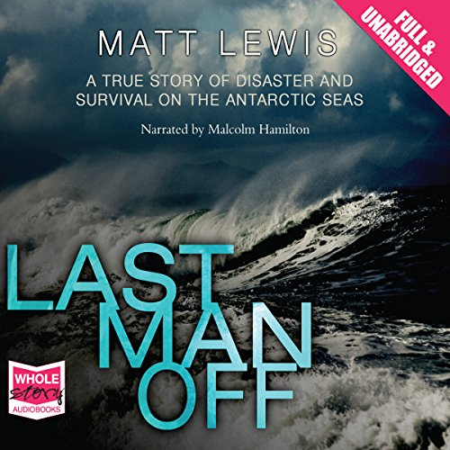 Last Man Off audiobook cover art