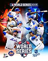 "MLB 2015 World Series Match Up Composite New York Mets vs Kansas City Royals Photo (Size: 8"" x 10"")"