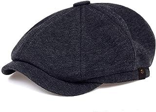 VORON Men's Newsboy Hat Flat Hat Beret Ivy Driving Cap Hats for Men