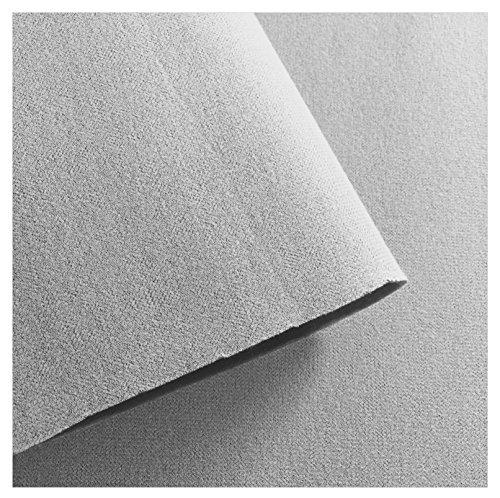 2R Stock SRL - Tissu pour plafond de voiture avec mousse (3 mm) - gris clair (ral 7035)