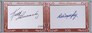Keith Hernandez; Dale Murphy Aftermarket Auto PSA/DNA Certified COA Sticker (Trading Card) 2016 Historic Autographs Friends 'N Foes Cut Autographs - [Base] #KHDM