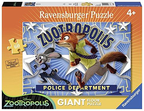 Ravensburger Zootropolis - Puzzle: Nick y Judy 54749