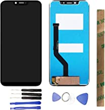 JayTong LCD Display & Replacement Touch Screen Digitizer Assembly with Free Tools for UMI Umidigi One/One Pro Black